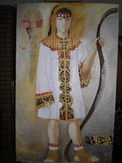 Tundmatu rahvakillu esindaja portree